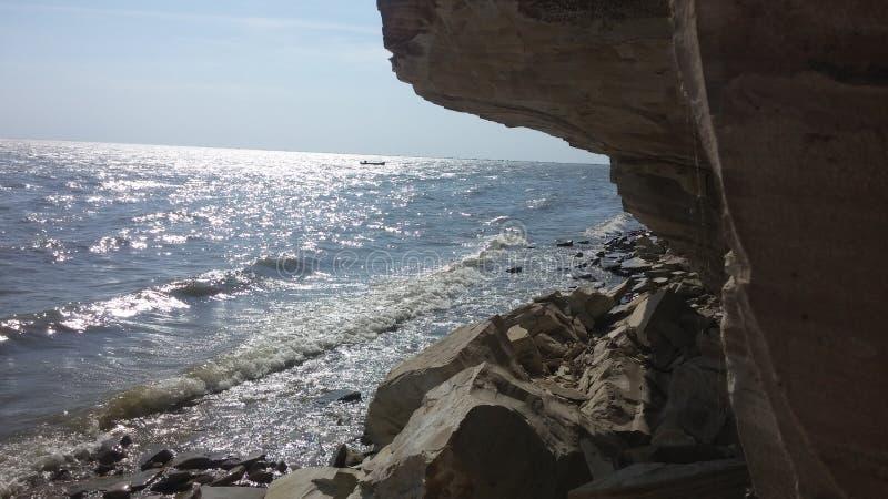 Mountin i morze zdjęcie royalty free