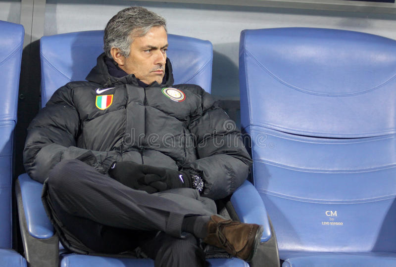 mourinho του Jose στοκ φωτογραφία με δικαίωμα ελεύθερης χρήσης