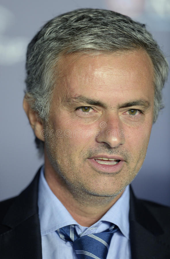 mourinho του Jose στοκ εικόνες