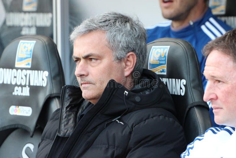 Mourinho stock image