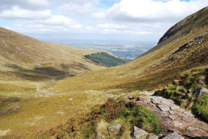 Mourne Mountains, Northern Ireland stock image