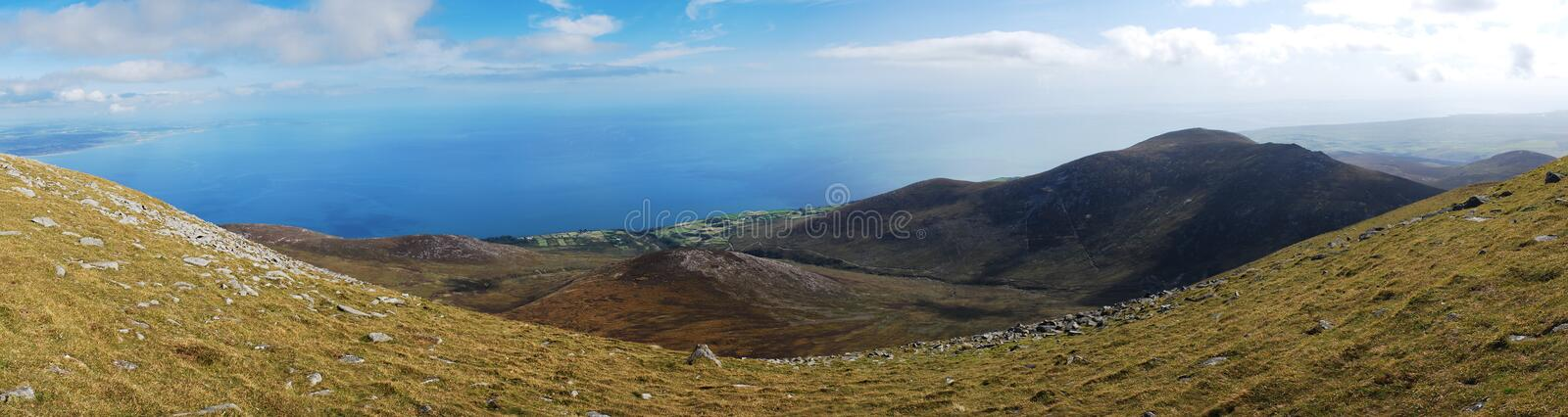 Mourne Mountains, Northern Ireland stock photography