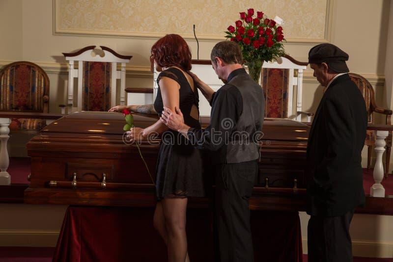 mourning stock foto