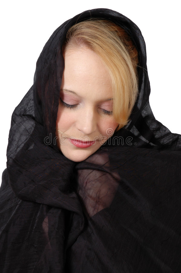 Mourning stock photo