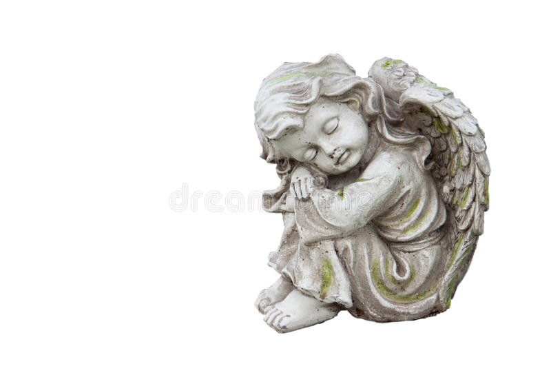 Mourning Angel Stock Photography