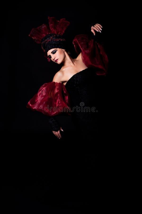 Mourning. Femme fatale