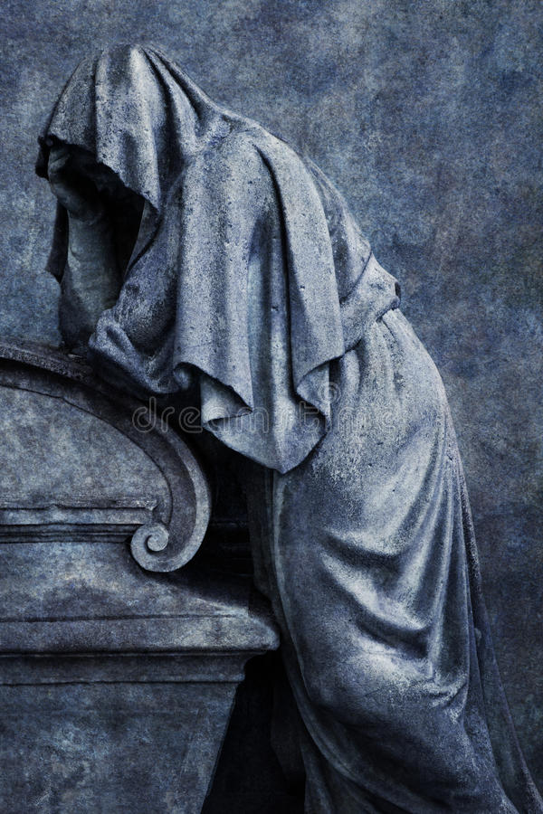 Mourning Figure royalty free stock images
