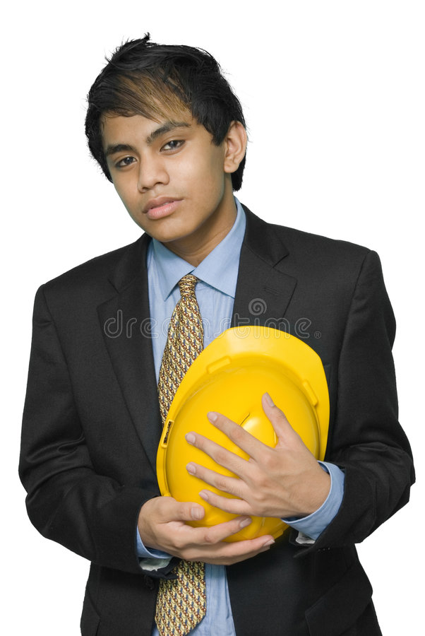 Download Mourning Indian engineer stock image. Image of architect - 7809645
