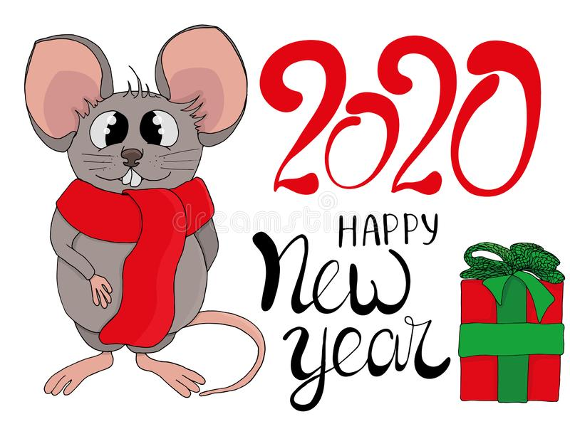 Mous2020 2 stock illustrationer