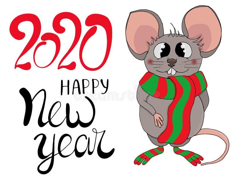 Mous2020 ilustração do vetor
