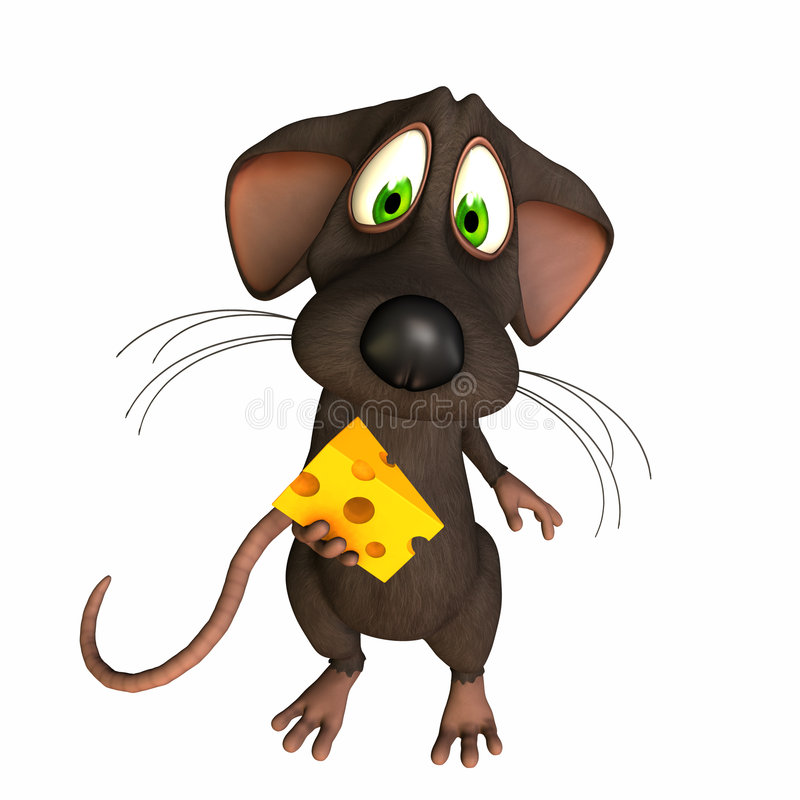 Free Mouse - Caught With Cheese Stock Images - 2906314