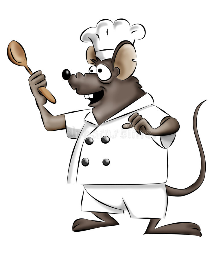 Download Mouse chef stock illustration. Image of chef, character - 4064429