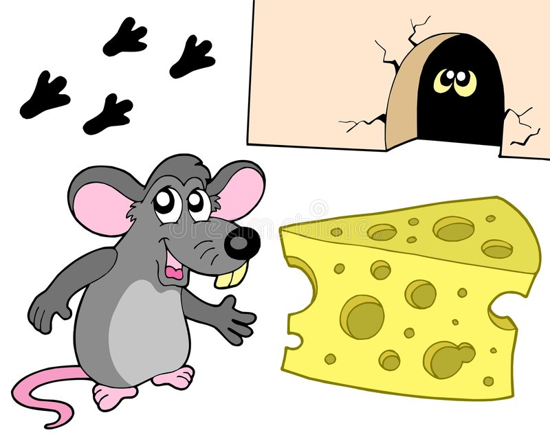 Mouse collection vector illustration