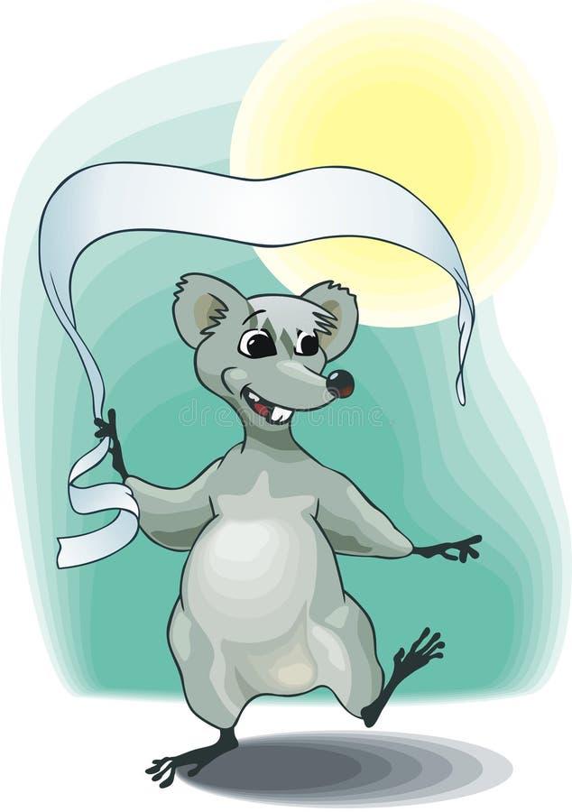 Download Mouse del nuovo anno illustrazione vettoriale. Illustrazione di cute - 3885685