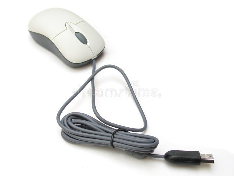 Mouse del USB disconnesso fotografia stock