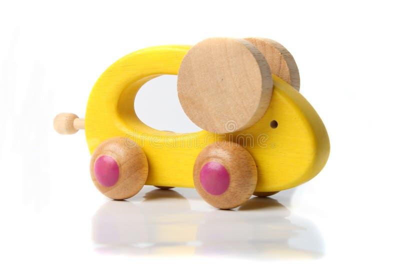 Mouse di legno del giocattolo fotografie stock