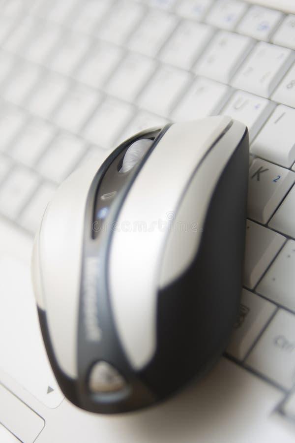 Mouse e tastiera del calcolatore immagine stock