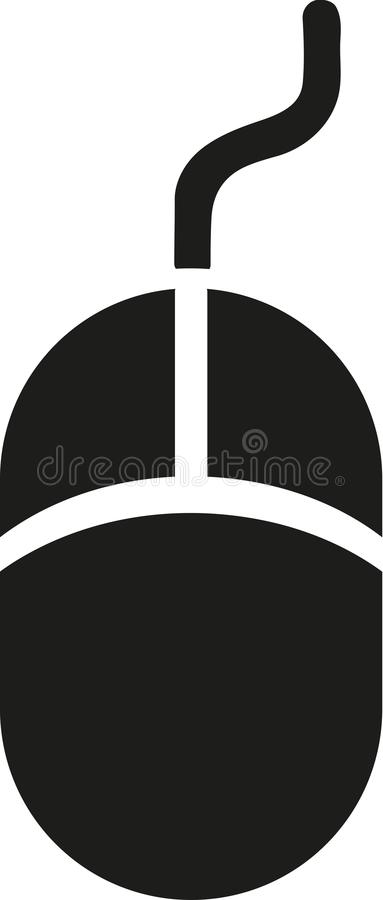 Mouse icon vector stock illustration