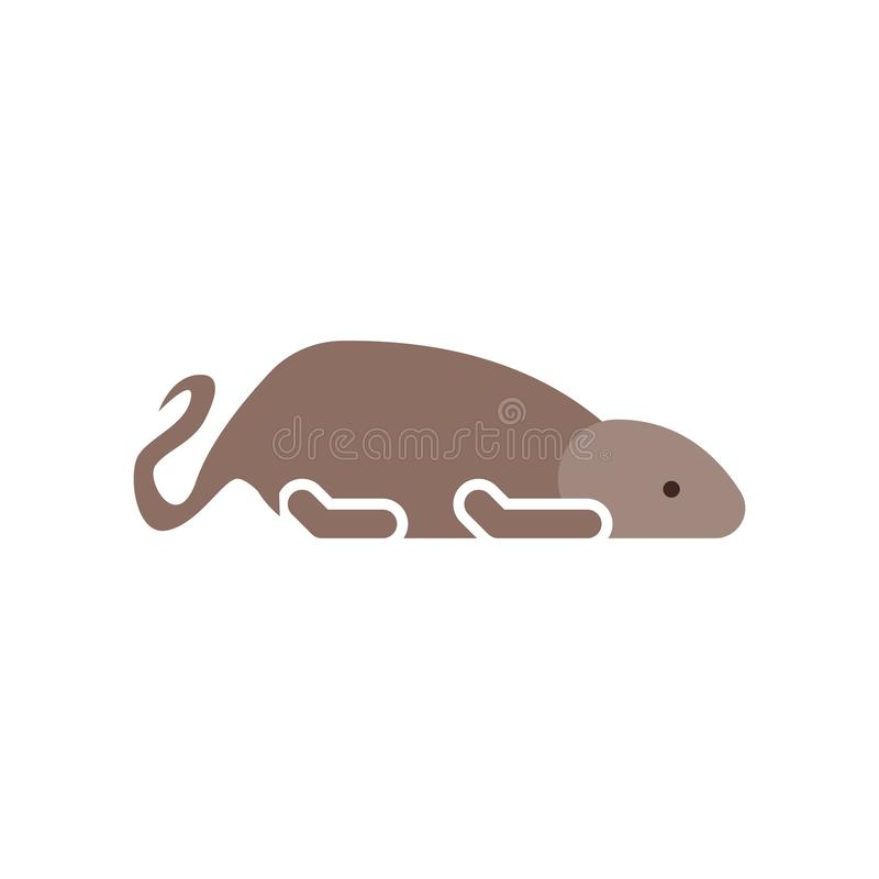 Mouse icon vector sign and symbol isolated on white background, Mouse logo concept vector illustration