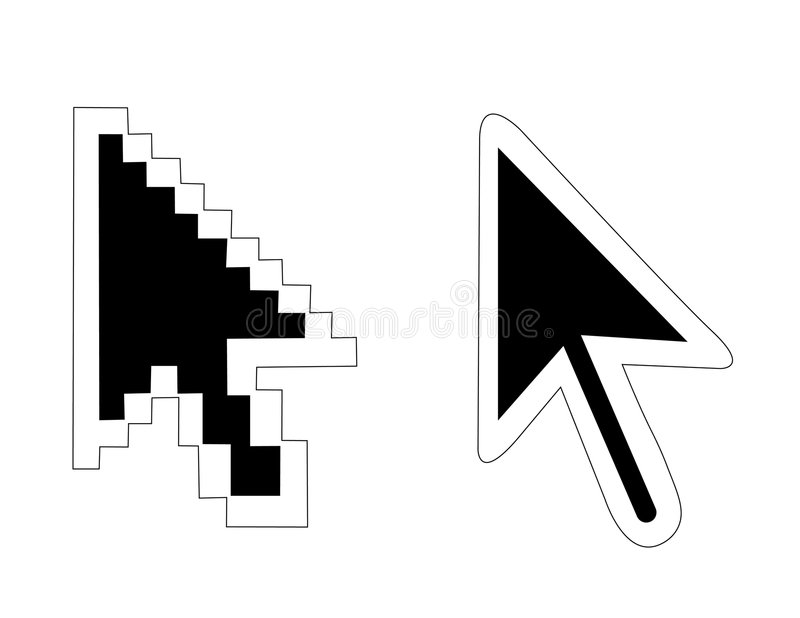 Download Mouse Pointers Arrow Royalty Free Stock Images - Image: 5724339