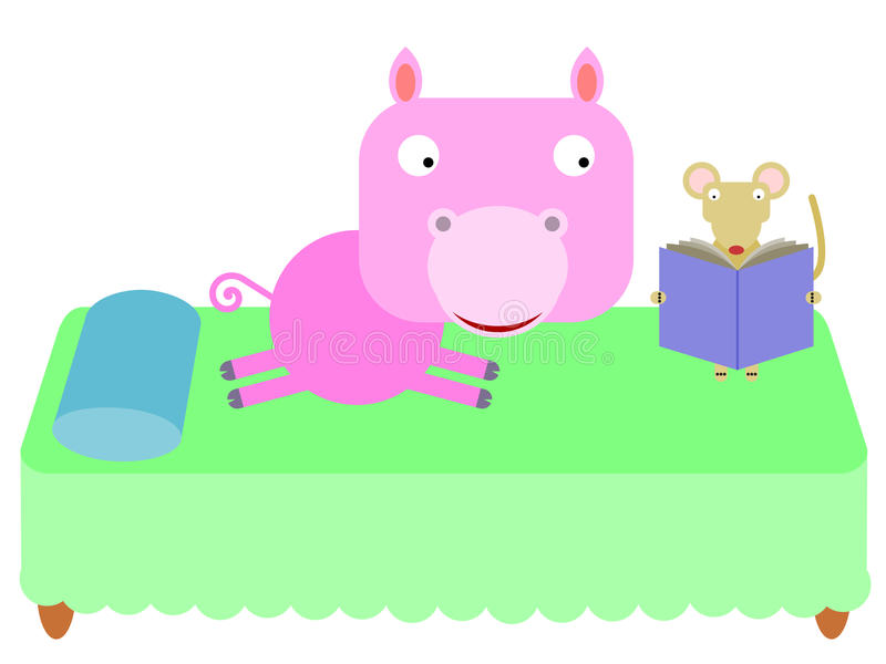Download A mouse story stock illustration. Image of bedtime, illustration - 36866554