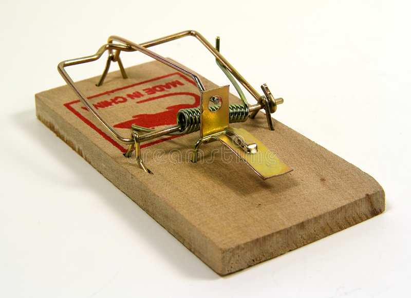 Mouse Trap royalty free stock photos