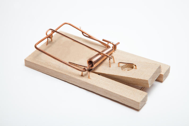 Mouse trap royalty free stock images