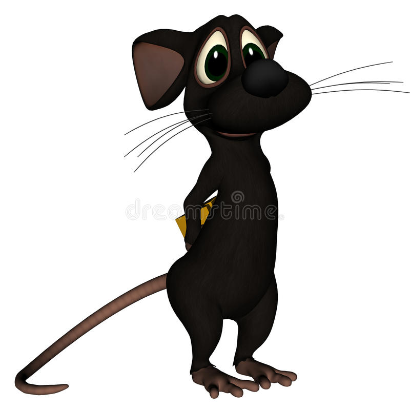 Download Mouse What Cheese? stock illustration. Illustration of mice - 11636495