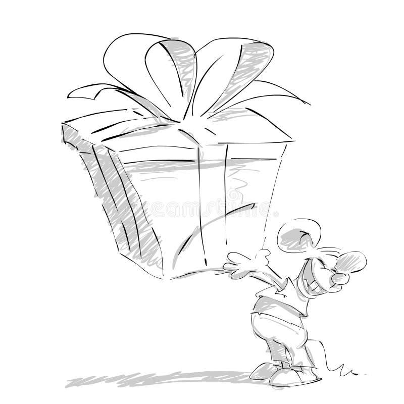 Mouse1 illustration libre de droits