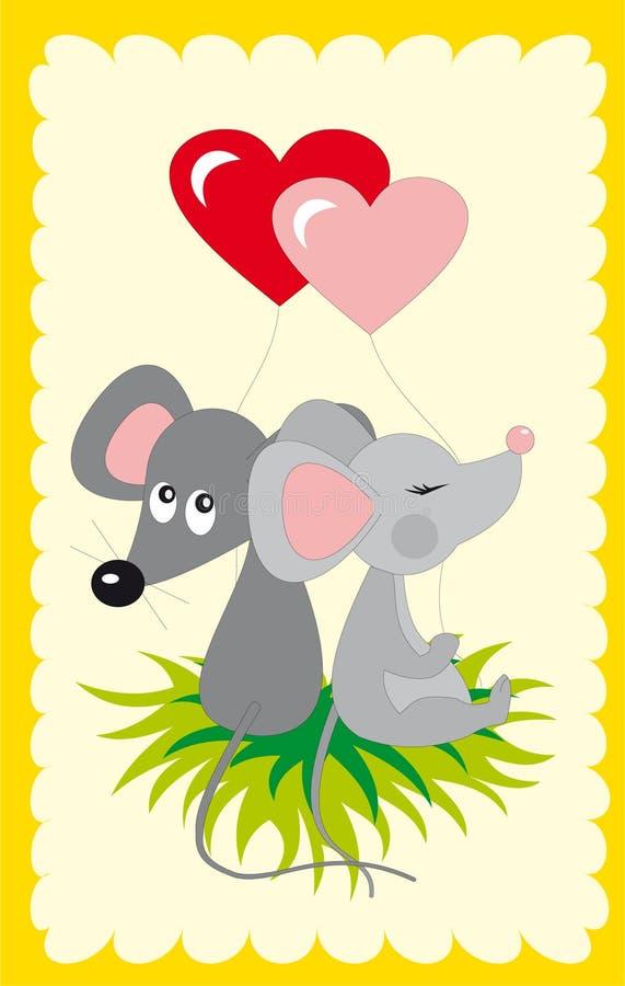 Mouses illustration libre de droits