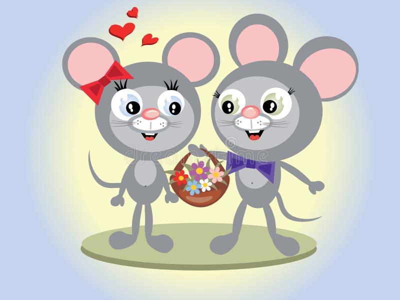 Mouses illustrazione vettoriale