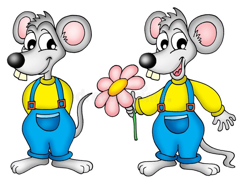 Mouses vector illustration