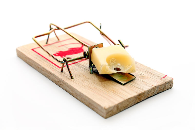 Download Mousetrap stock image. Image of beware, catching, exterminator - 18244225