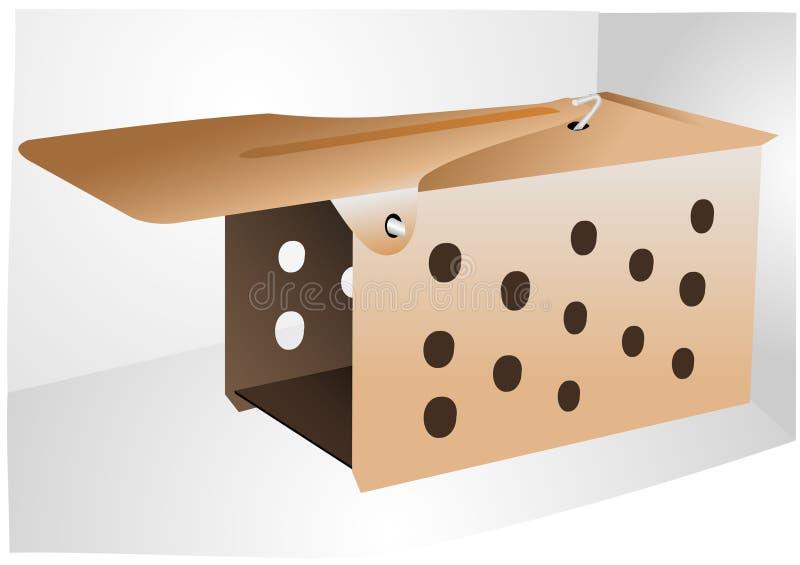 mousetrap stock illustrationer