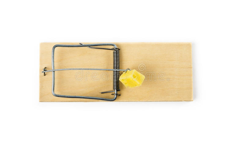 mousetrap arkivfoton