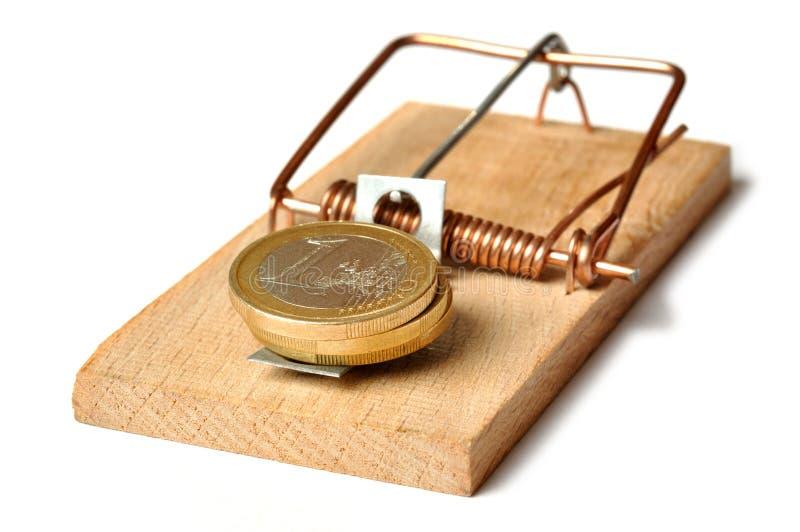 Mousetrap imagem de stock