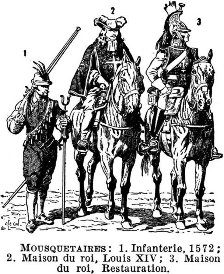 Mousquetaires Free Public Domain Cc0 Image