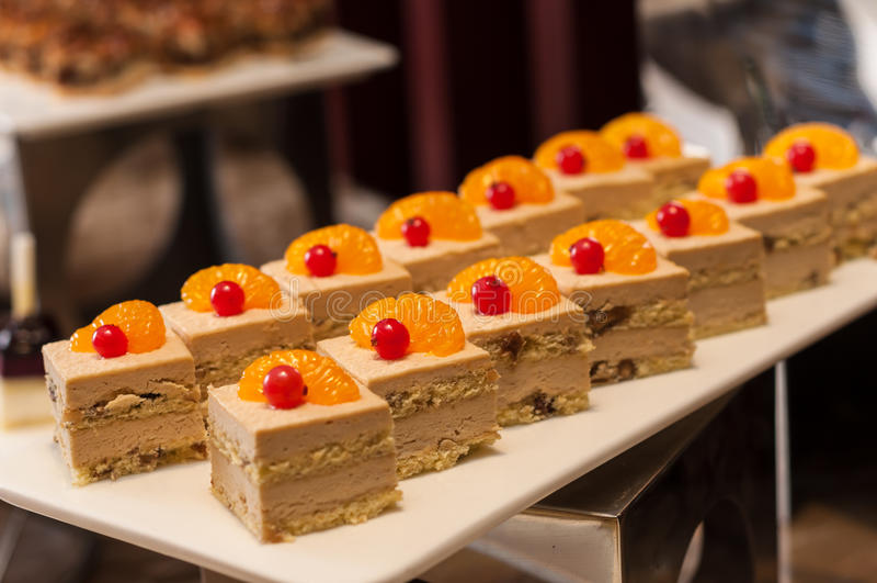 Mousse Coffe κέικ στοκ εικόνες