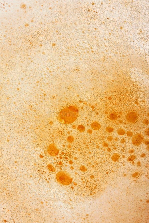 Mousse de bière image libre de droits
