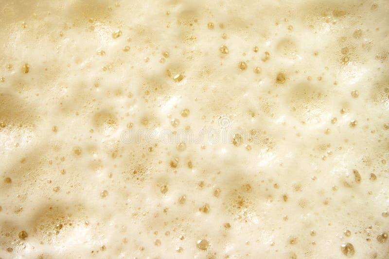 Mousse de bière photo libre de droits