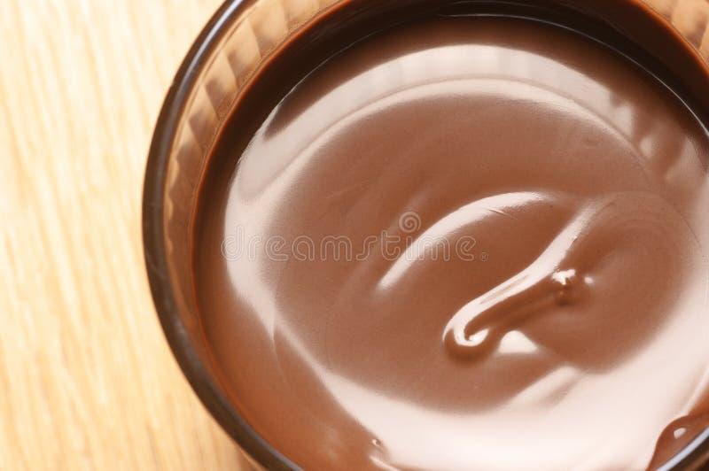 Mousse de chocolat photo stock