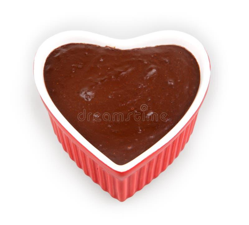Mousse de chocolat images libres de droits