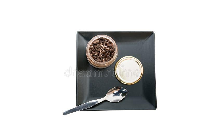 Mousse de chocolat photo libre de droits