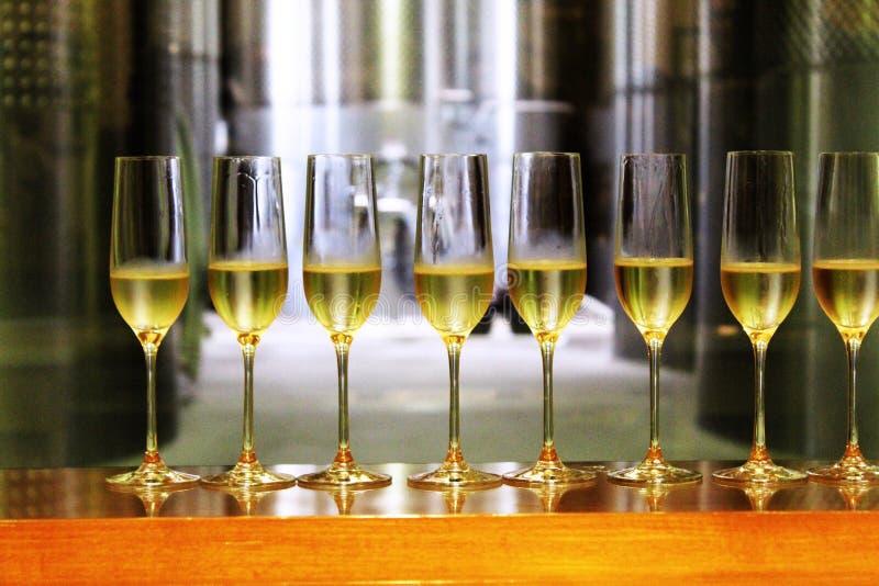 Mousserande vin arkivbild