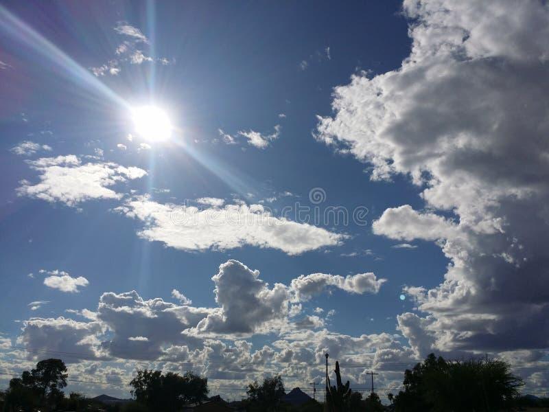 Mousson d'heure d'été photo libre de droits