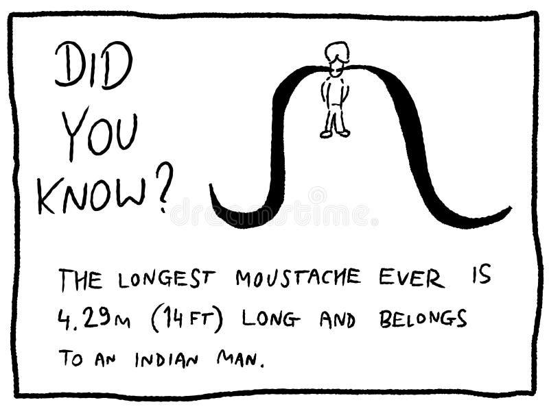 moustache διανυσματική απεικόνιση