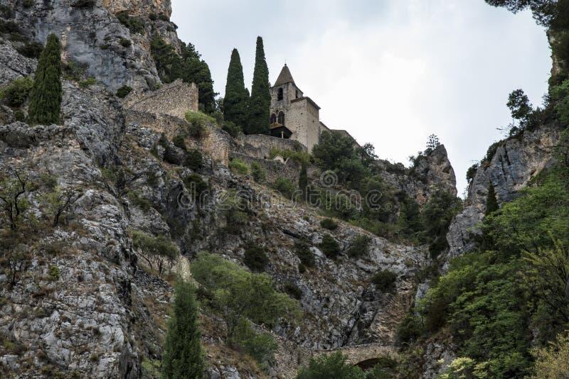 Moustiers Sainte Maria (Francja) fotografia royalty free