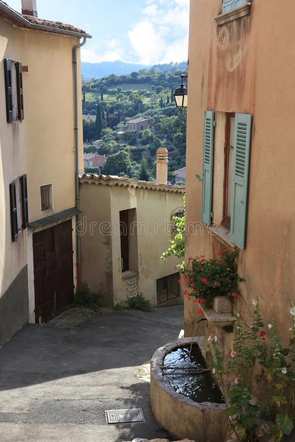 Free Moustiers-Sainte-Marie, French Provence Royalty Free Stock Photo - 122658485
