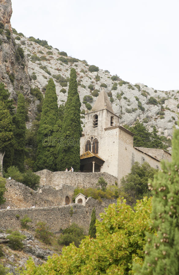 moustiers-Sainte-Marie, Provence obrazy royalty free