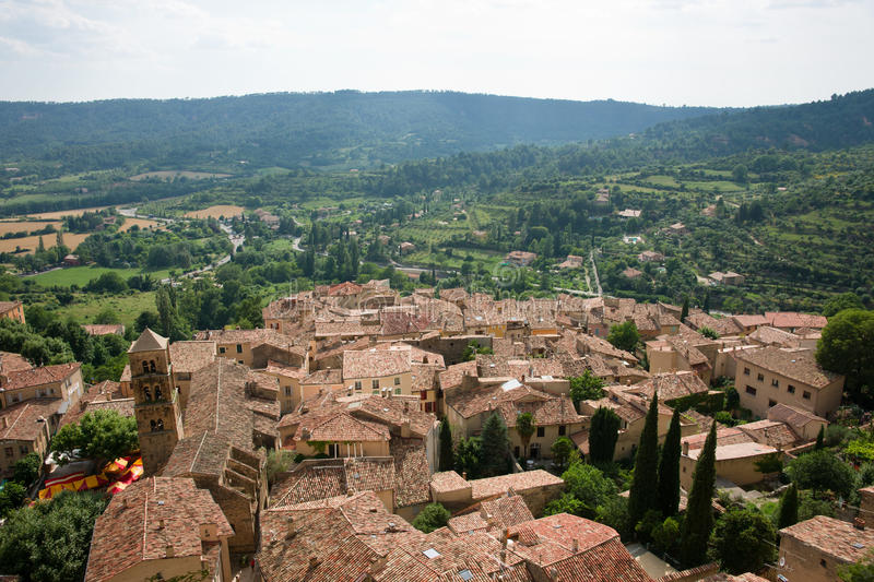 Moustiers-Ste-Marie Stock Image